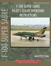 North American F-100 SUPER SABRE Pilot BOOK  VIETNAM ERA FIGHTER JET