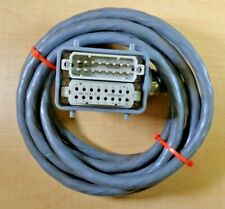 Harting PLC Cable 16 Foot 32-Pin Male/Female Interface M6
