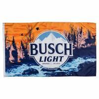 Busch Light Sunset Hikers Flag Banner 3x5Ft Man Cave
