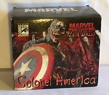 Marvel Zombies Colonel America Bust AP/#2 SDCC 2007 SIGNED by Arthur Suydam