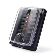 Waterproof Car Blade Fuse Box LED Indicator ATC Holder Block 10-Way 250 Amp IP56