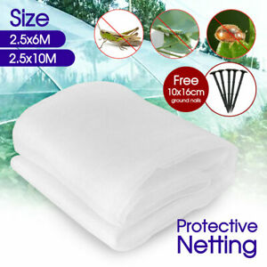 6/10M Garden Netting Crops Plant Protect Mesh Bird Net Insect Animal Vegetables