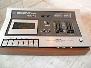 ~SONY~1975 Retro TC-136SD Ferrite Head Stereo Cassette Tape Deck & Recorder
