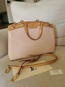 Louis Vuitton Vernis Monogram Brea MM Bag in Ballerine