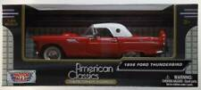 1956 Ford Thunderbird  rot weiss / red white  MotorMax  1:24