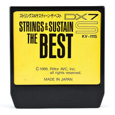 RITTOR AVC KV-111S STRINGS & SUSTAIN THE BEST ROM Cartridge YAMAHA DX7S Synth