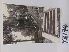 Vintage Posted Postcard Stamp 1946 Riverview Park Nebraska City Stairway