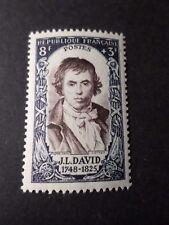 FRANCE 1950, timbre 868, J-L. DAVID, CELEBRITY, neuf**, VF MNH STAMP