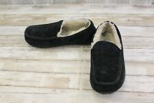 UGG Ascot Slippers- Men's size 10 Black