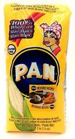 P.A.N Harina Blanca - Pre-cooked White Corn Meal 2 lbs  3 pack