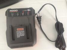 Brand New RIDGID 18V R86092 X4 DUAL LITHIUM-ION Dual Chemistry BATTERY CHARGER