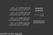 Dawes Horizon White Decals-Transfers-Stickers #4