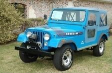 Bestop 1976 - 1986 Jeep CJ-7 Blue Denim Replacement Soft Top 51118-05 Heritage