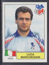 PANINI-USA 94 COPPA DEL MONDO - # 304 LUCA MARCHEGIANI-ITALIA (Verde Retro)