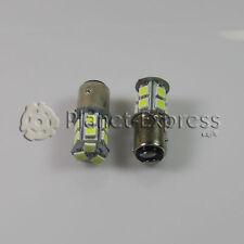2 x Bombillas 13 LED SMD BAY15D Coche Freno, DRL, Posicion Bombilla Blanco Xenon