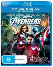 Marvels Avengers Bluray + DVD disc