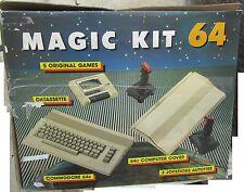 Commodore 64 Magic Kit Limitato box polistirolo bello datassette GIOCHI ENTRA!