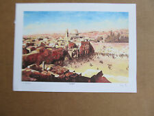 Eli Grebel The Kotel Lithograph Signed Numbered COA 13 3/4x10 -11x8 Image Size