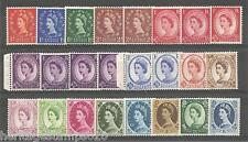 NEW DISCOUNT PRICE 1960 Ph Crown Upr Set of 24values, incs SG613 & 614b. Un Mint