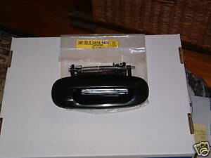 25749400 GM OEM HANDLE OUTSIDE RIGHT REAR CADILLAC SEVILLE 1998-2004