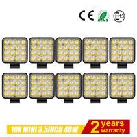 10X48W LED Lámpara Trabajo,Faros antiniebla, Luz de trabajo,Offroad,12V 24V,MINI