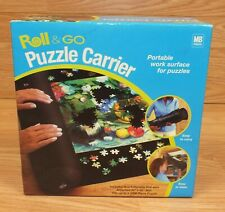 Genuine Milton Bradley Roll & Go Inflatable Portable Puzzle Carrier in Box *READ