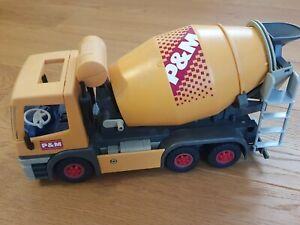 Playmobil Betonmischer, Baufahrzeug, gebraucht
