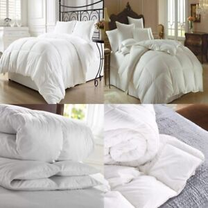 🔥LUXURY HOTEL QUALITY GOOSE / DUCK FEATHER & DOWN DUVET QUILT/PILLOW ALL SIZES