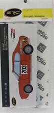 SRC SP10089 Decals Ford Capri RS Jagermeister  #203 waterslide 132 Slot Car Part