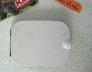 GAS TANK DOOR GAS CAP COVER WHITE HINGE PAINTED for 93 94 95 96 97 98 SAAB 9000
