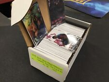 2018 Upper Deck Marvel Masterpieces COMPLETE SET (81) TIER 1, 2, 3 #1-81 All #'D