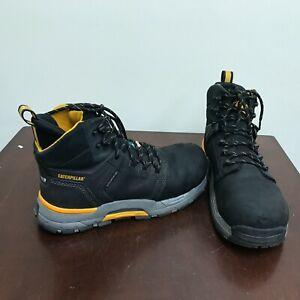 """Men's Caterpillar Edge 6"""" Lightweight Waterproof Work Boots. Size 9."""