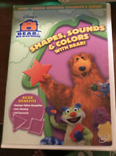 BUENA VISTA HOME VIDEO D37270D BEAR IN THE BIG BLUE HOUSE SHAPES SOUNDS & COL...