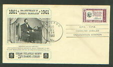 ABRAHAM LINCOLN 100th ANNIVERSARY OF DEATH CHICAGO PHILATELIC SOCIETY COVER