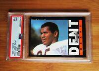 1985 Topps #24 RICHARD DENT Rookie Chicago Bears PSA 7