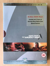 STAR TREK II: THE WRATH OF KHAN ~ 1982 2 Classic Director's Cut 2-Disc UK DVD