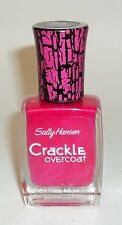 Sally Hansen Crackle Overcoat Nail Enamel Polish FUCHSIA SHOCK 04