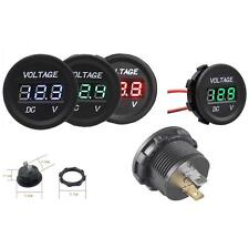 Car Motorcycle DC12V LED Panel Digital Voltage Meter Display Volt meter