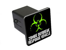 Zombie Outbreak Response Vehicle - Green - Tow Hitch Cover Plug Insert