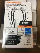 Sylvania 78935 LED8A19/DIM/O/827 ULTRA LED A-line Lamp Omnidirectional