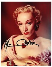 Marlene Dietrich  Autograph 4, Original Hand Signed Photo