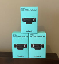 Logitech C922X Pro Stream Webcam - Black - Brand New - In Hand & Ships Today