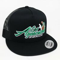 c9ea68a0e38 Gorra Aguacateros Mexico Snap Back Trucker Hat Visera Plana Black Adjustable