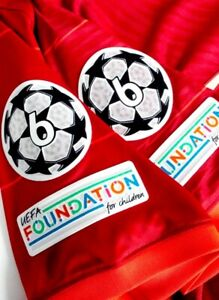 2021/22 Champions League Soccer Patch Ball & Respect Patches