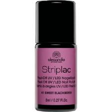 (224,38€/100ml)alessandro STRIPLAC - SWEET BLACKBERRY 8 ml *NEU + OVP*