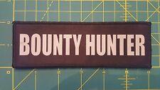 2x6 Bounty Hunter Chest Rig Plate Carrier Morale Patch Hook Loop Bail Bondsman