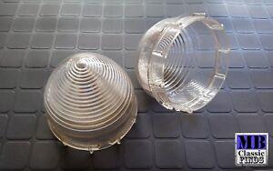 1958 Buick 58 park light lens x2 Glo Brite GB699 5949368 pair of parking lenses