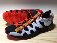 Men's ASICS Tiger Gel Mai Shoes Sneakers 1191A198-001 Black/White/Orange 11.5 DS