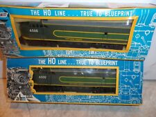 AHM HO SCALE WESTERN PACIFIC C-LINER POWER & FACTORY DUMMY UNITS # 6500