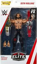 WWE Elite Collection Seth Rollins w/Championship Belts